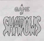 Game Of Shadows, Online Comic, Dallas Indie Comic, Sweat Shop Press